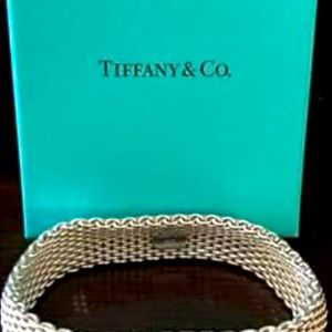 Authentic Tiffany and Co. Mesh Bracelet